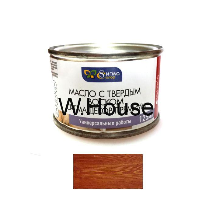 """Масло для дерева, вишня, с твердым воском, """"Сигма-Декор Премиум"""""""